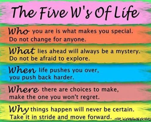 Five W's